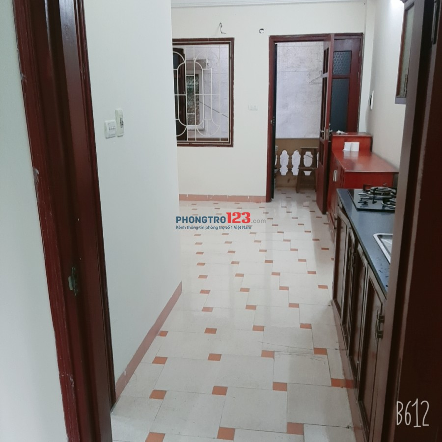 Cho thuê căn hộ chung cư mini tại địa chỉ Ngõ 132, ngách 42A Quan Hoa, Cầu Giấy, HN