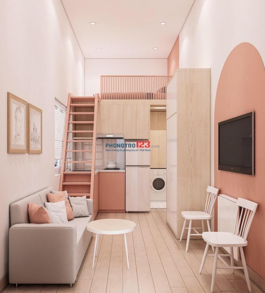 Cần cho thuê căn hộ mini mới xây, full nội thất, LH: 0986585046 gặp Tú (Zalo)