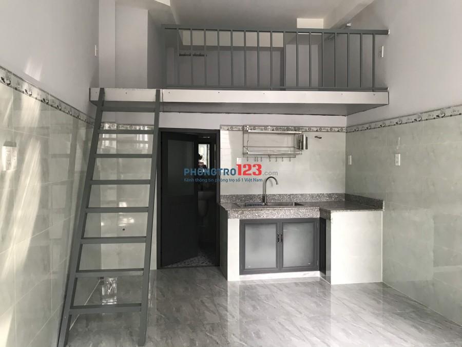 Cho thuê phòng mới có gác và máy lạnh tại 165/28 Văn Thân P8 Q6 giá từ 4,5tr/th