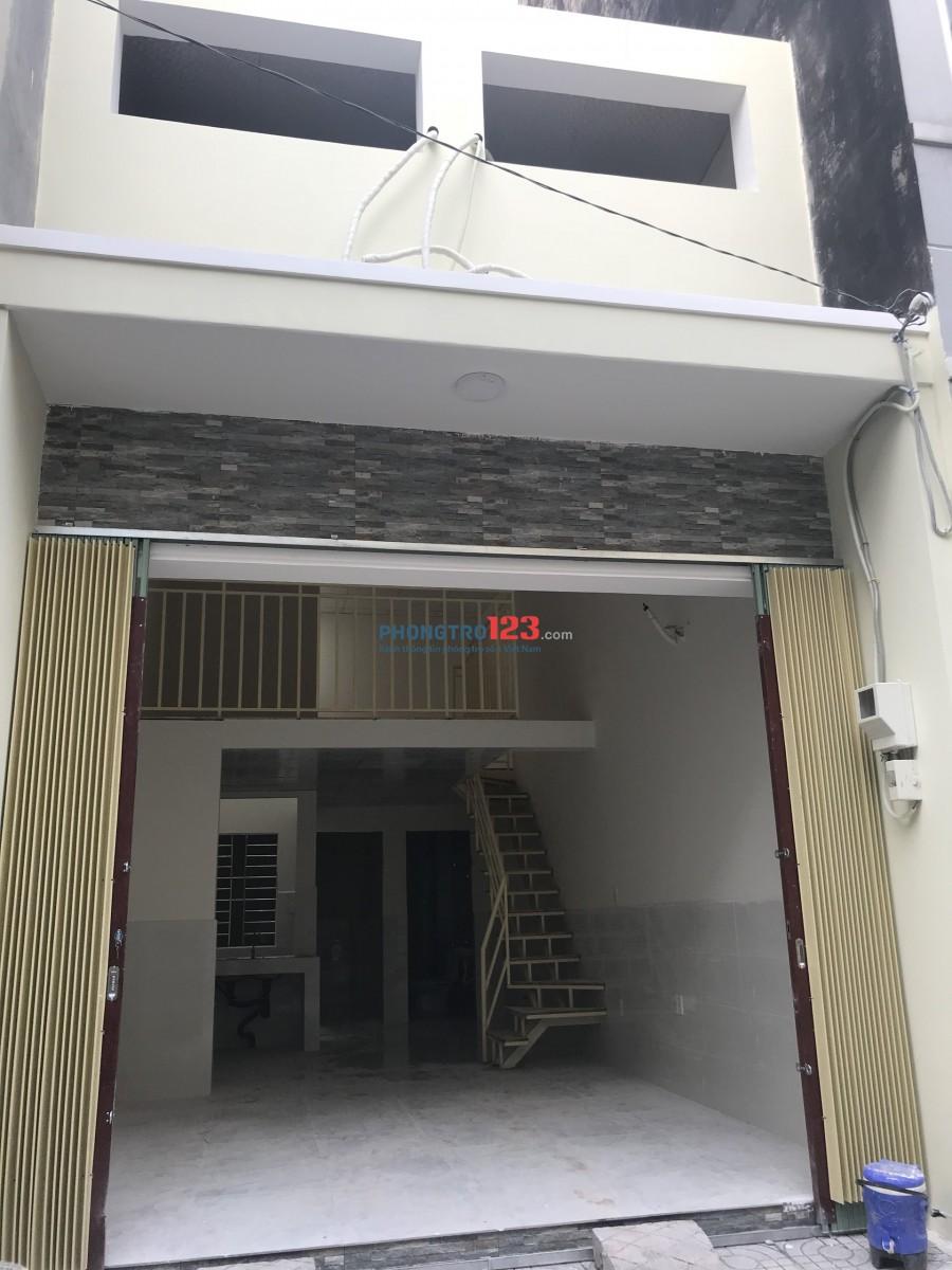 Cho thuê nhà mới xây Hẻm 283 Dương Đình Hội P Tăng Nhơn Phú B Q9 giá 7tr/th