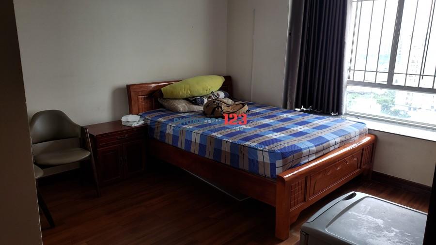 Phòng chung cư HAGL3 full nội thất gần ĐH TĐT, Rmit