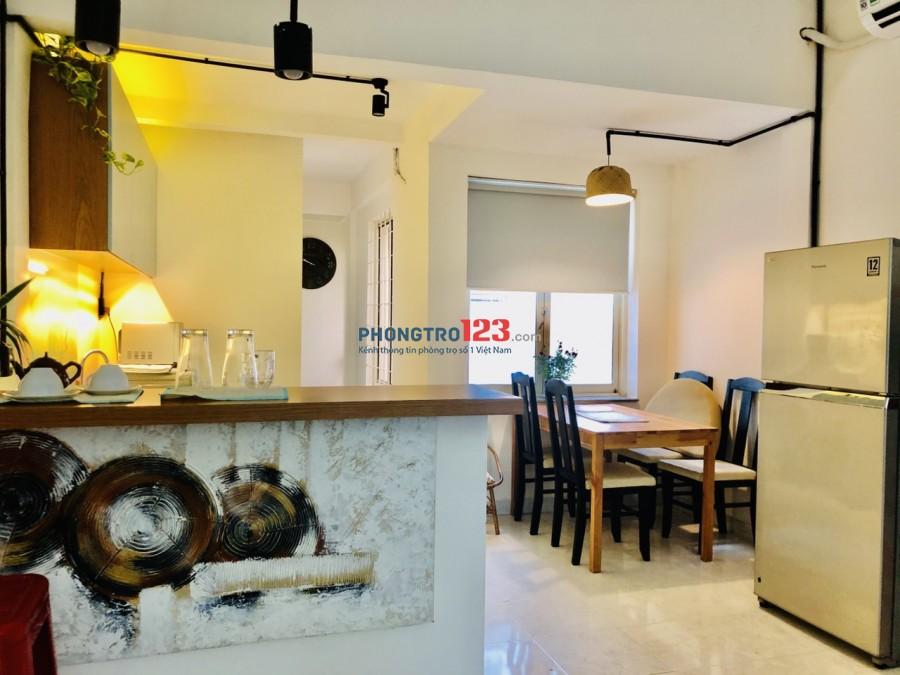 Chính chủ cho thuê Căn hộ 42m2 Full nội thất tại 57 Phạm Ngọc Thạch P6 Q3