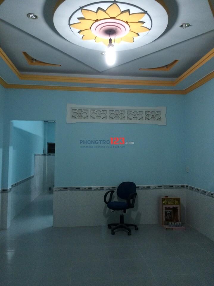 Nhà cho thuê quận 12 - Gần Trung tâm nuôi dưỡng bảo trợ người già Thạnh Lộc, 3E Tô Ngọc Vân, P.Thạnh Xuân, Q.12.