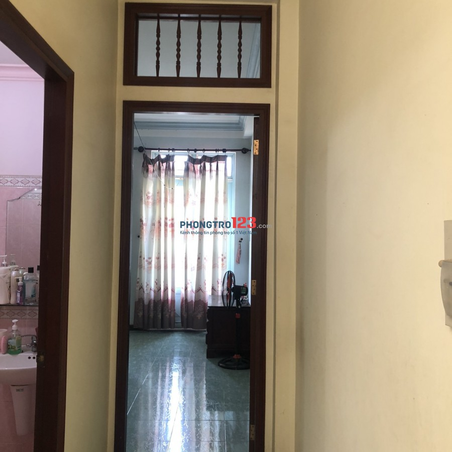 Cho thuê nhà riêng đủ nội thất tại quận Bình Thạnh