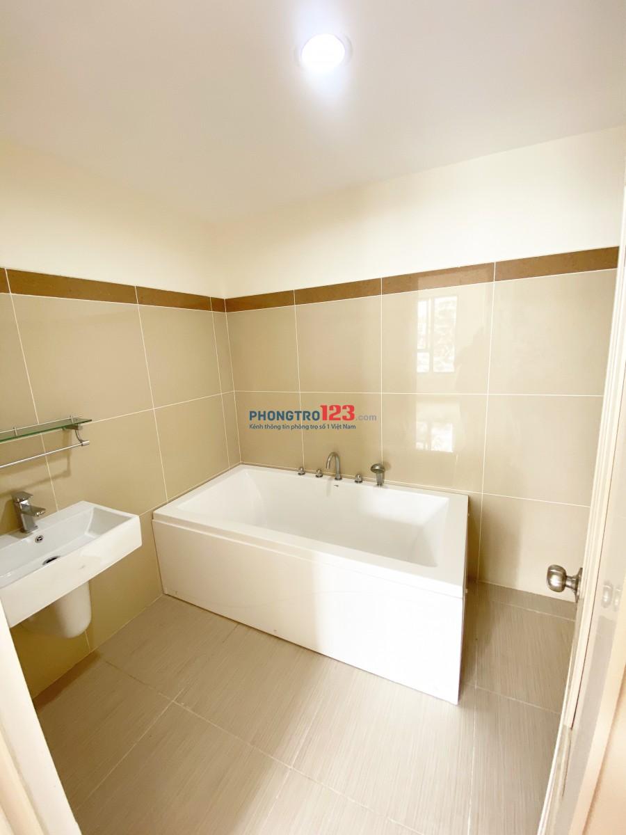 Phòng trọ Quận 7 mới tiện nghi 32 mét- ban công- toilet bồn tắm