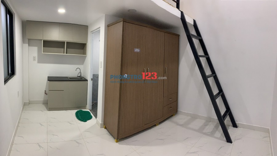Phòng trọ mới xây Full NT 27m2 Dương Văn Dương 2,7tr
