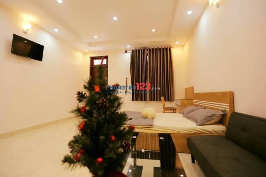 Studio cho thuê ngay cầu Điện Biên Phủ, quận Bình Thạnh