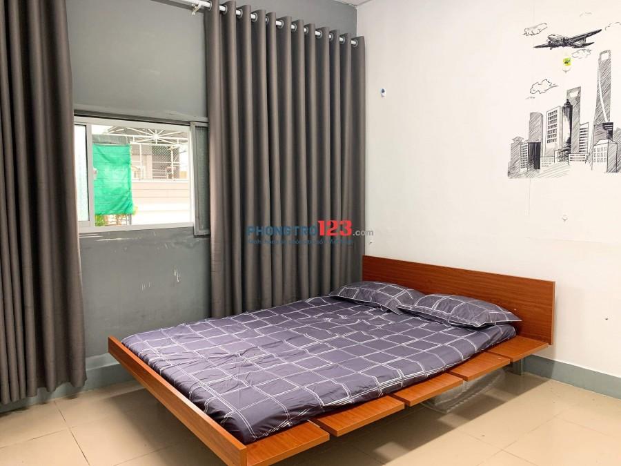 Phòng cho thuê có nội thất tại Hẻm 171 Tôn Đản Quận 4
