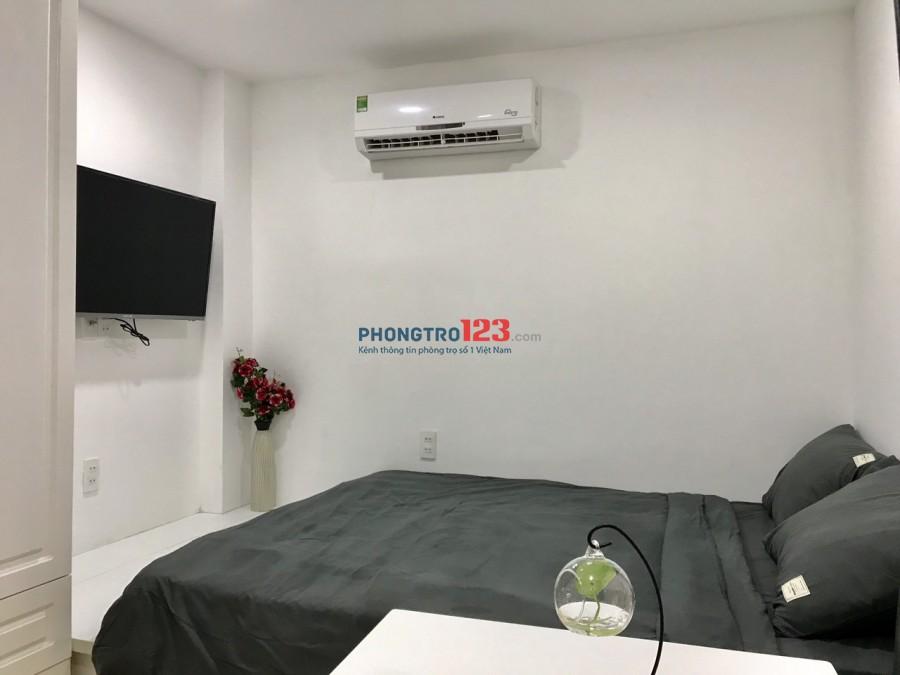 Cho thuê căn hộ studio 25m2 Full nội thất tại KDC City Land Q Gò Vấp giá 6tr/th