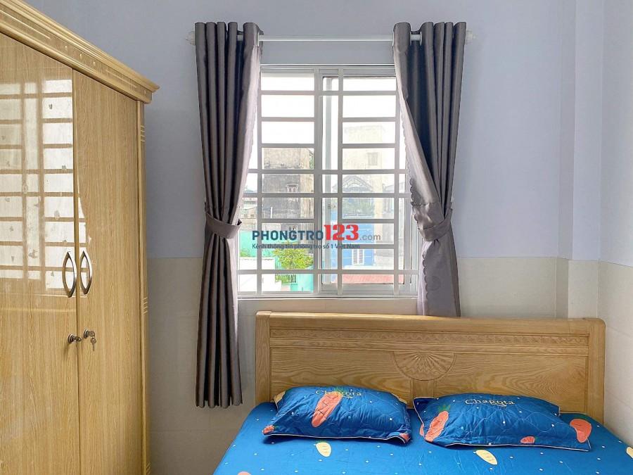 Phòng Có Nội Thất, 25 (m2) - MÁY LẠNH, TỦ LẠNH, TỦ QUẦN ÁO, NỆM... Full Nội Thất