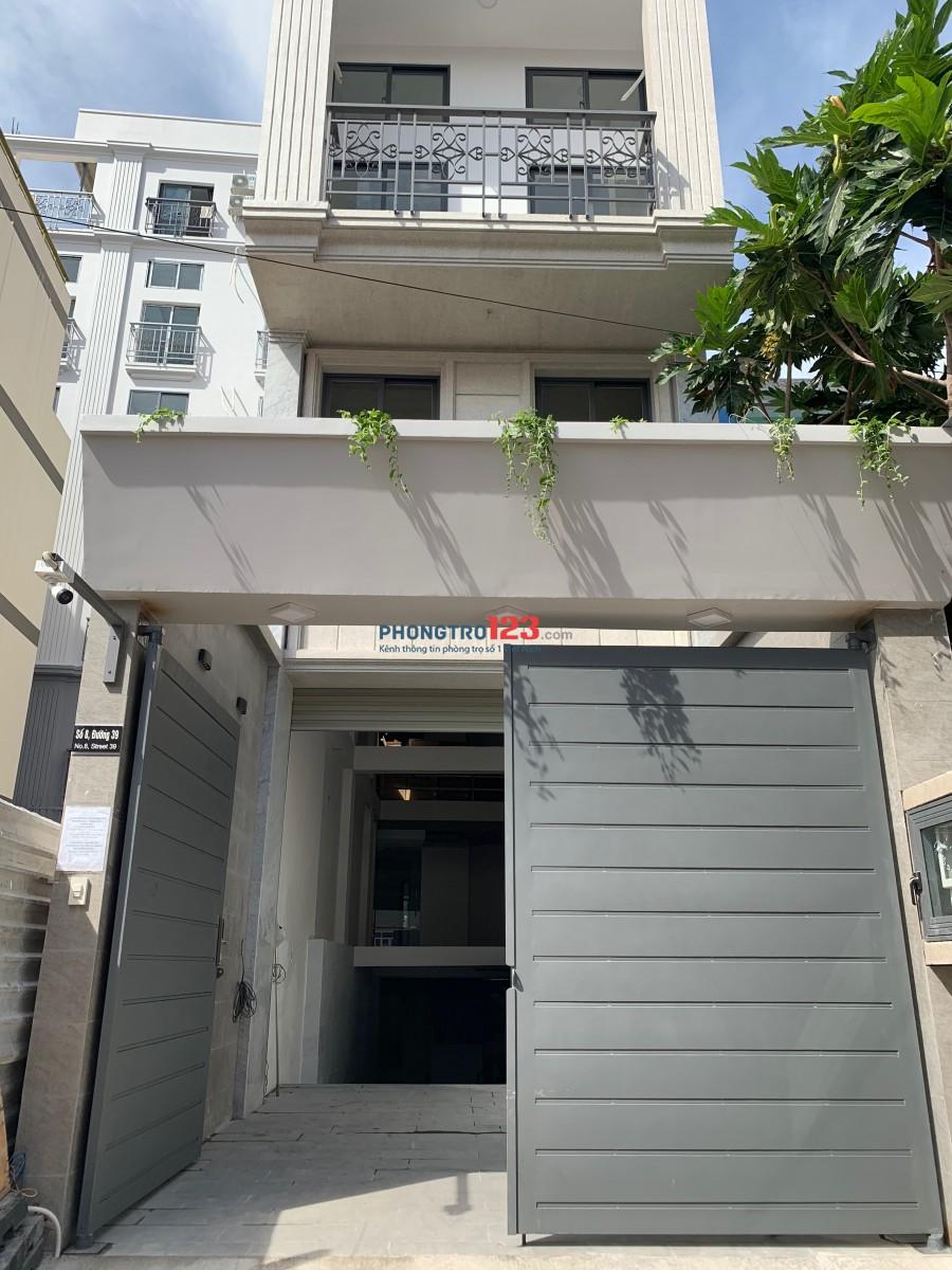 Khai trương căn hộ studio cho thuê có nội thất cơ bản tại Bình Trưng Đông, Quận 2