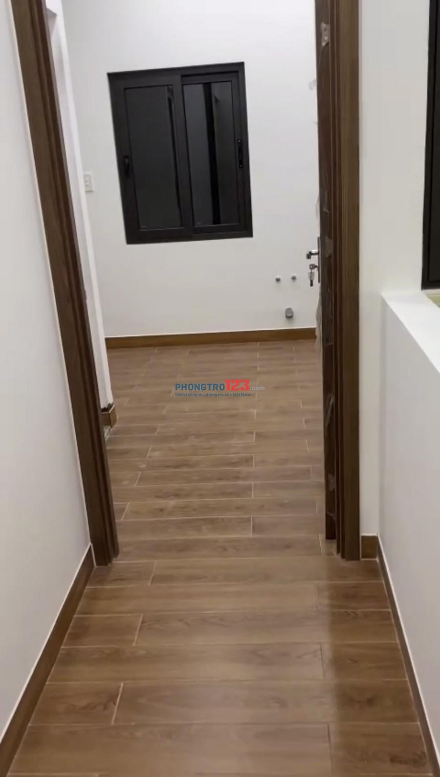 Cho thuê phòng đầy đủ nội thất mới xây 100% tại 37 Nhất Chi Mai P13 TBình giá 3,5tr/th