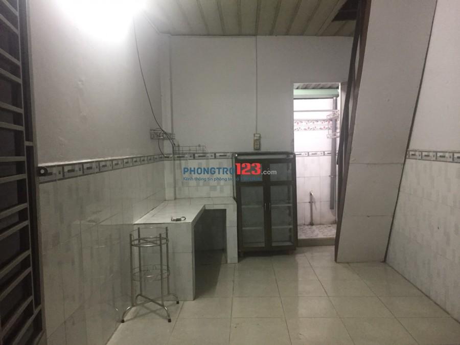 Cho thuê phòng trọ Nguyễn Thái Sơn-30m2