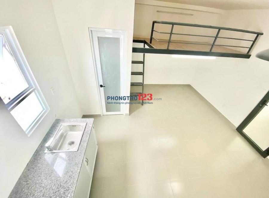 Phòng cho thuê giá cực rẻ, mới, sẵn máy lạnh rộng 30m2 tại Tân Phú