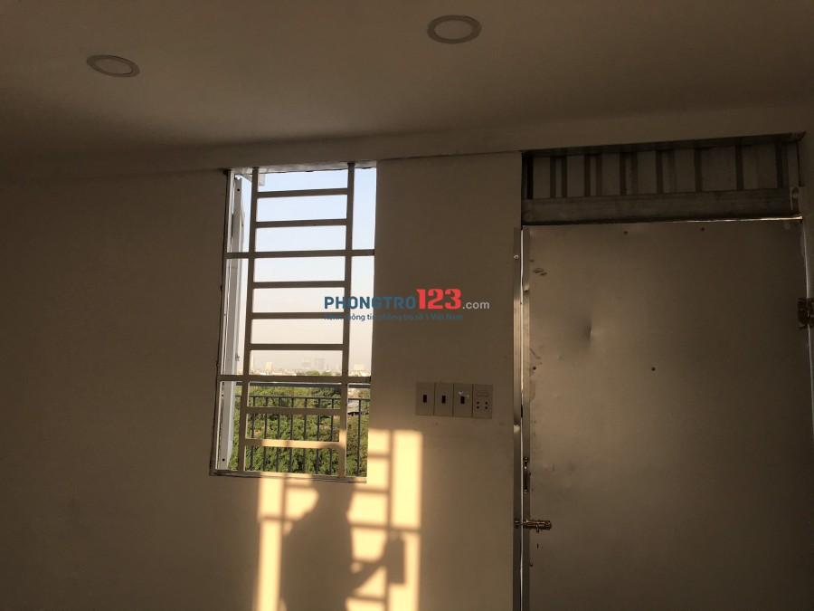 Cho Thuê Phòng trọ 2,5 tr sân thượng view land mark, Giga mall