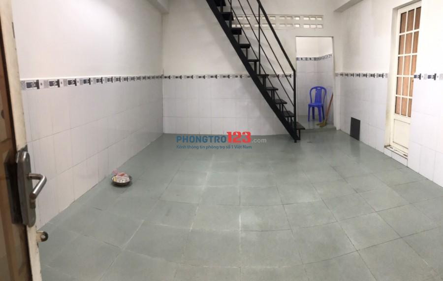 Cho thuê nhà NC 1 trệt 1 lầu 70m2 tại 493/47/4 CMT8 P13 Q10 giá 8tr/th