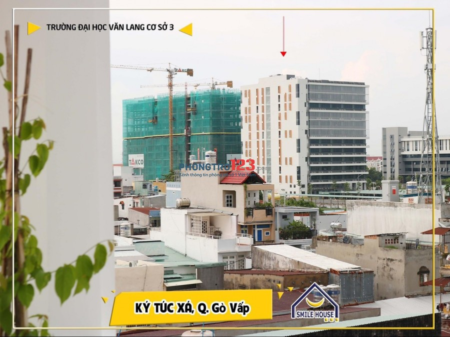 Ký Túc Xá tư nhân cao cấp giá rẻ gần ĐH Văn Lang miễn phí A-Z