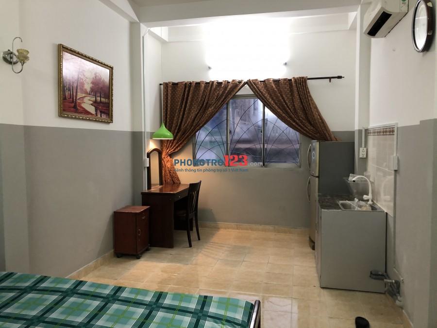 Phòng trọ cao cấp đầy đủ nội thất- Bàu Cát 1