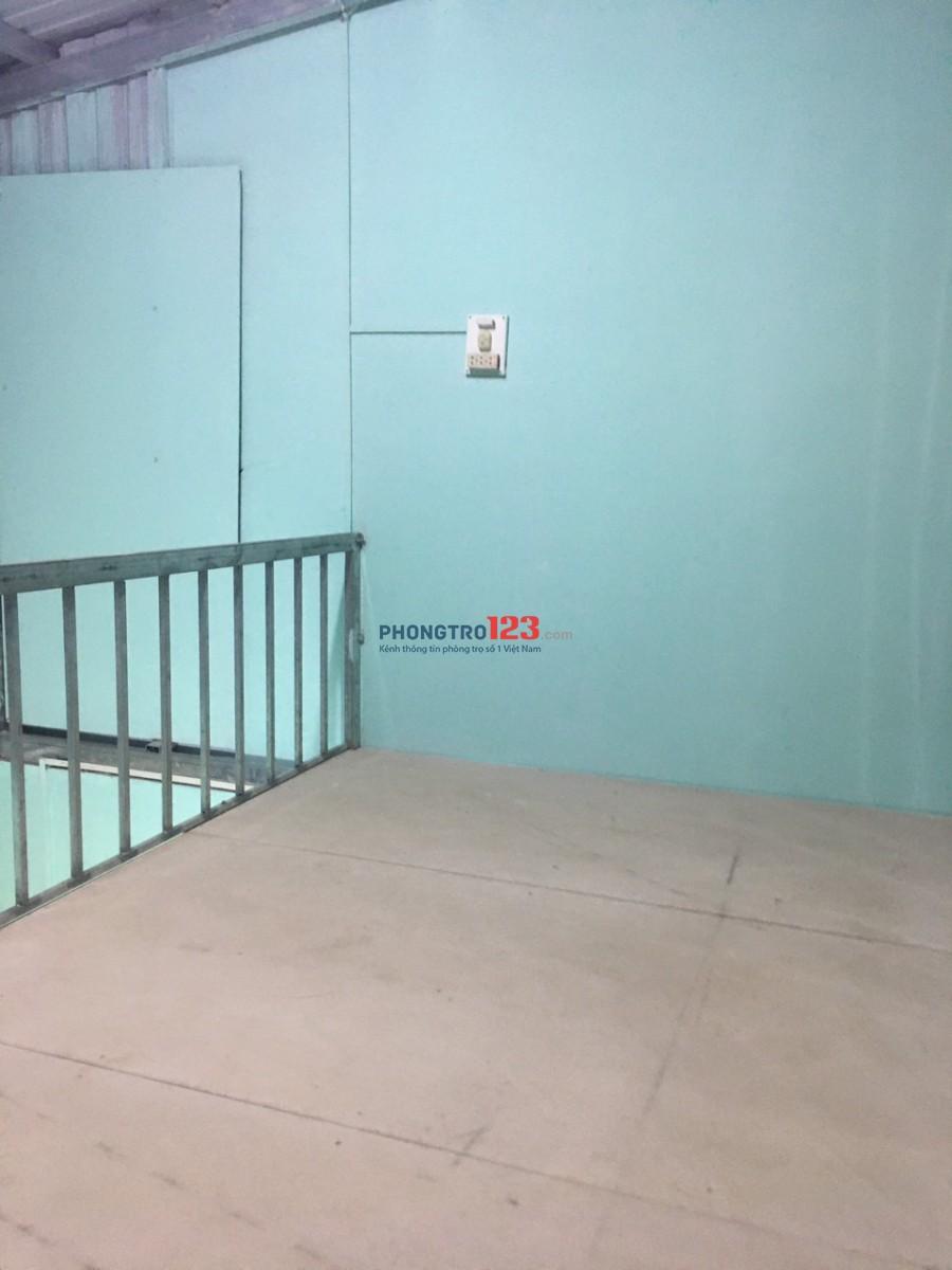 Cho thuê phòng trọ có gác 3.5 x 4m giá 1.900.000đ/tháng