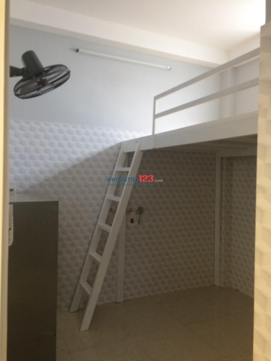 Cho thuê phòng trọ đầy đủ nội thất tại hẻm 377/14C Bạch Đằng P15 Q Bình Thạnh
