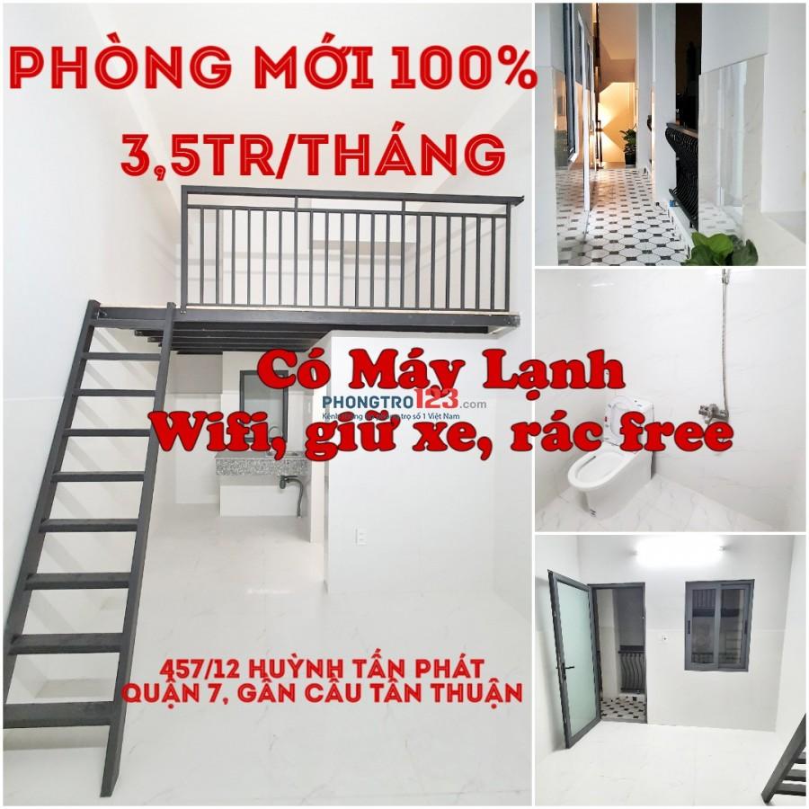 PHÒNG MỚI 100%_Cho Thuê phòng trọ Quận 7_Giờ Giấc Tự Do, An Ninh 24/24