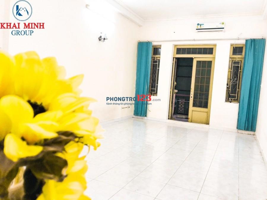 Phòng 40m2 có ban công- máy lạnh, gần Hàng Xanh, 63S Ung Văn Khiêm