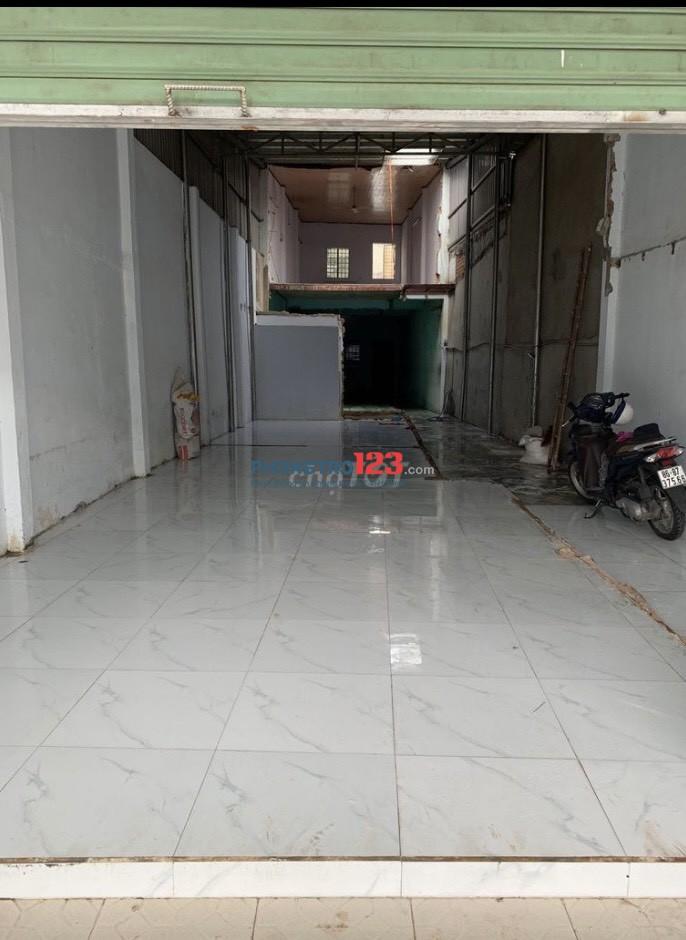 Cho thuê nhà NC 5,5x35 Mặt tiền số 10 Bình Long P Phú Thạnh Q Tân Phú