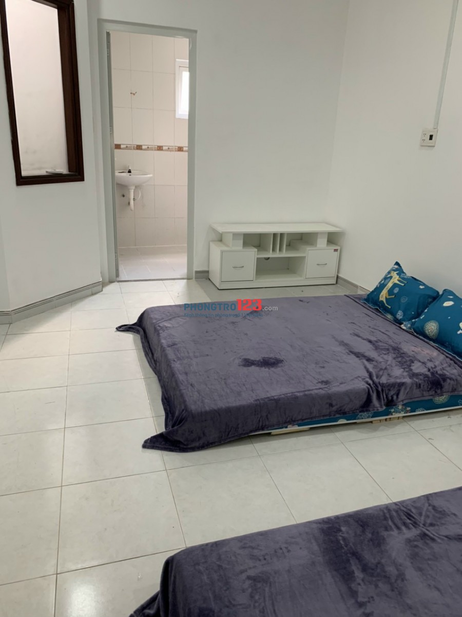 Phòng Trọ cao cấp mới xây cho thuê: Ngay Chợ cầu Quang Trung - Gần chung cư Khang Gia