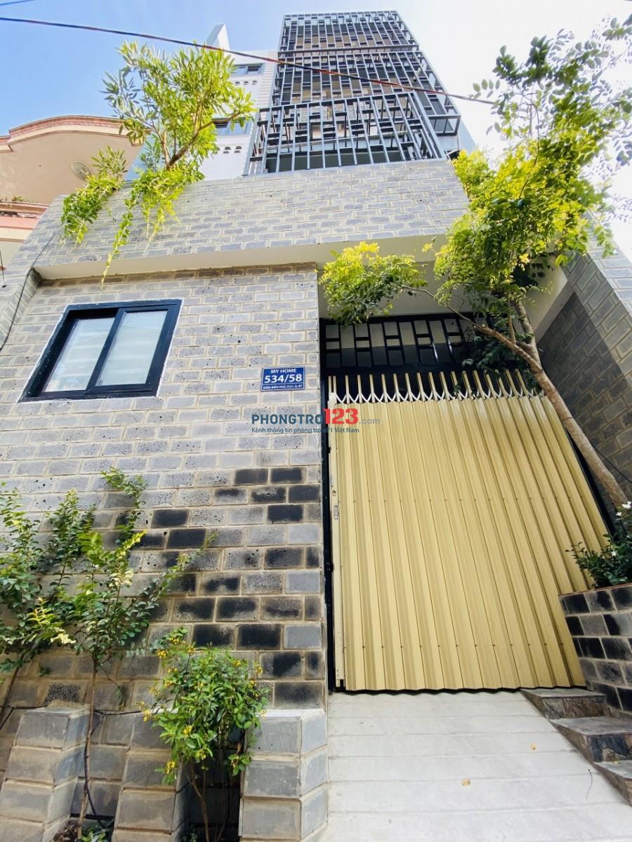 Cho thuê phòng trọ full nội thất đường Điện Biên Phủ, Quận Bình Thạnh đối diện Hutech
