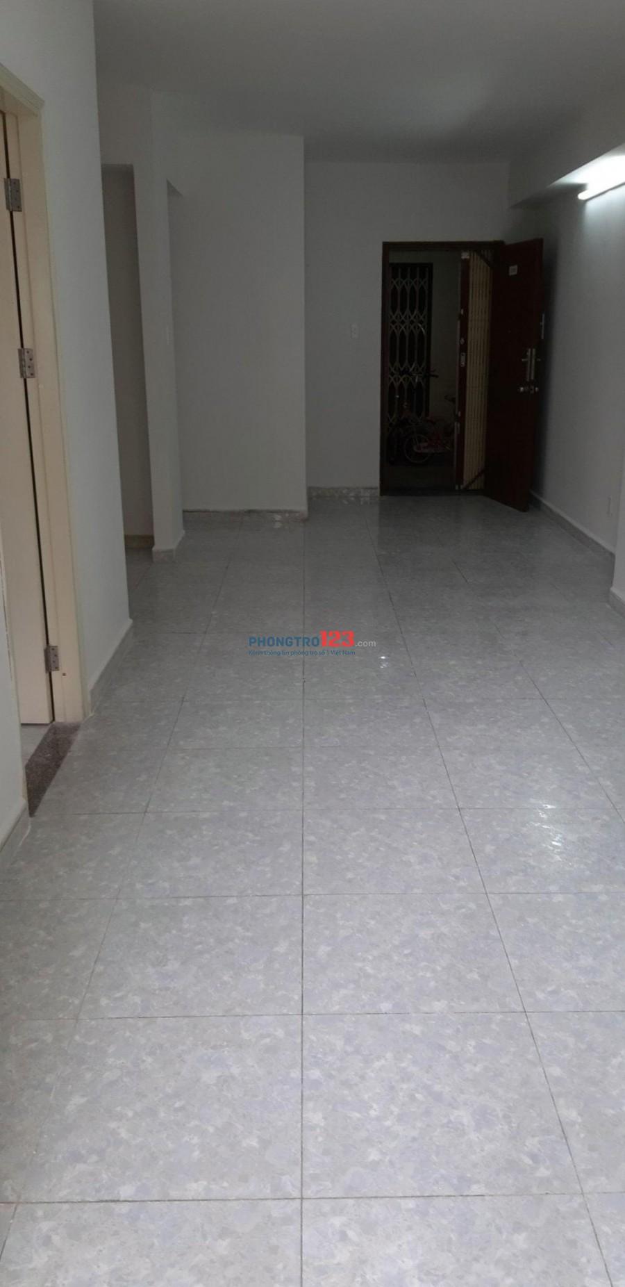 Cho thuê CH Chung Cư Khang Gia Gò Vấp, 61m2, giá 6tr/tháng, nhà trống