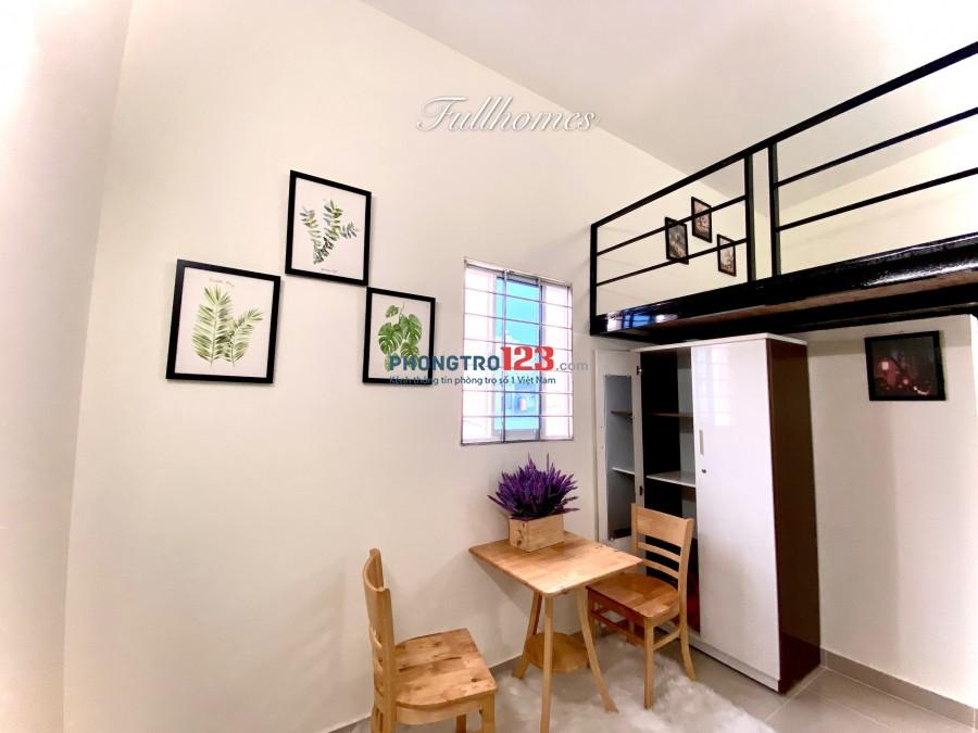 Phòng mới xây khu Bàu Cát, giá chỉ 3tr5. Bố trí full nội thất theo yêu cầu.