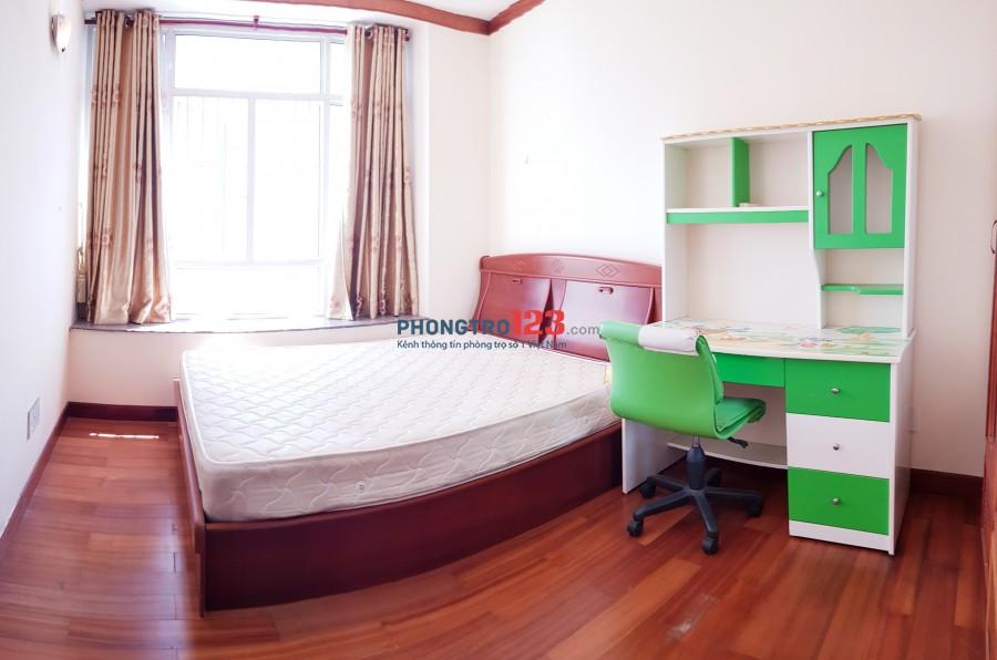 Phòng 3,7 tr giảm chỉ còn 3.3 tr full NT trong chung cư cao cấp, gần ViVo City, siêu thị, hồ bơi