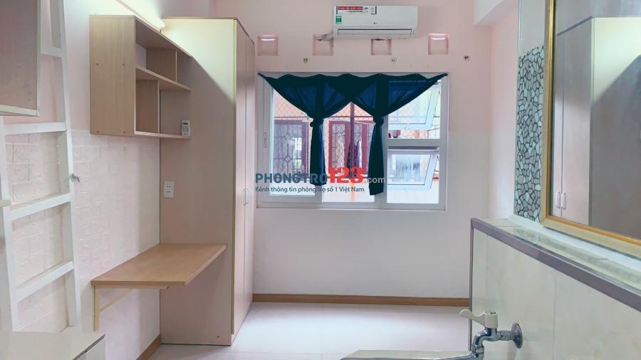 Phòng mới Full nội thất, Tủ quần áo, bàn làm việc, tolet, bếp... giá rẻ Tân Bình, Cộng Hoà, Nhất Chi Mai