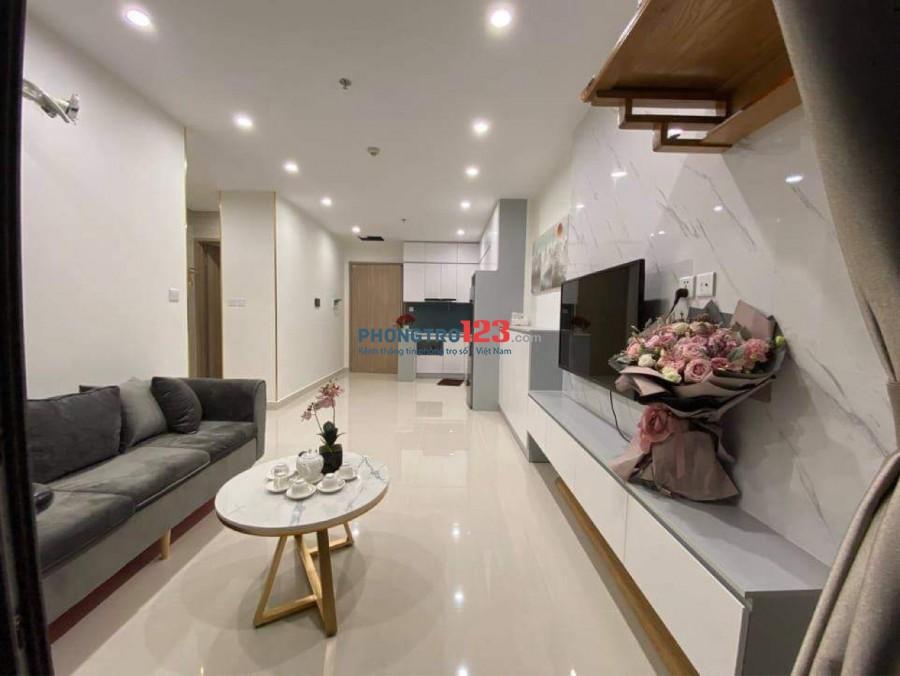 Vinhomes Smart City cho thuê căn chung cư 2PN + 1 WC giá 5,5tr/ tháng