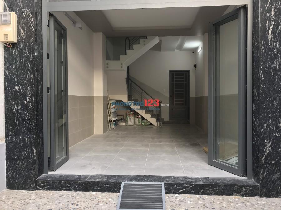 Phòng cho thuê có nội thất - gác, đường Trần Bình Trọng, P5 , Q.Bình Thạnh