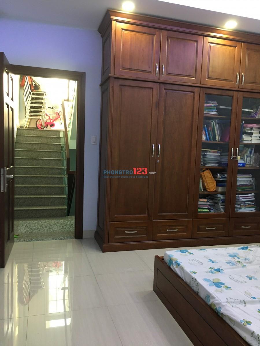Phòng trọ 25m2 q Tân Phú đường Nguyễn Trường Tộ