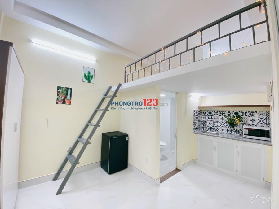 Cho thuê phòng STUDIO cao cấp FULL tiện nghi, trung tâm Quận Bình Thạnh