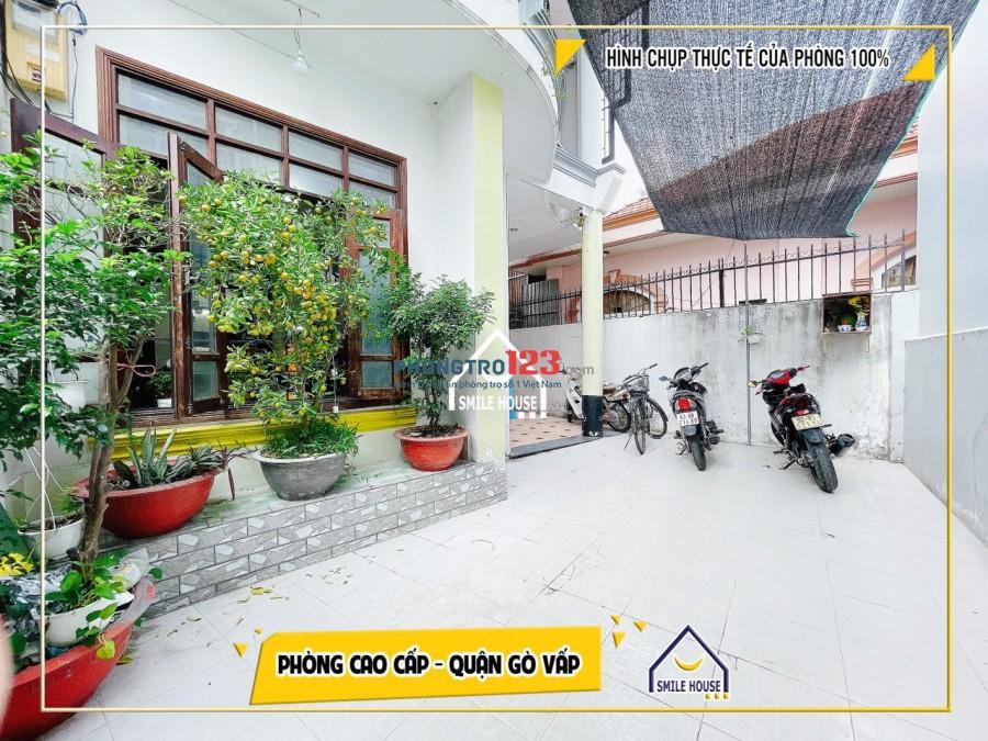 Cho thuê ktx tư nhân nằm trong Biệt Thự gần sân bay giá rẻ bao trọn gói p3 Gò Vấp