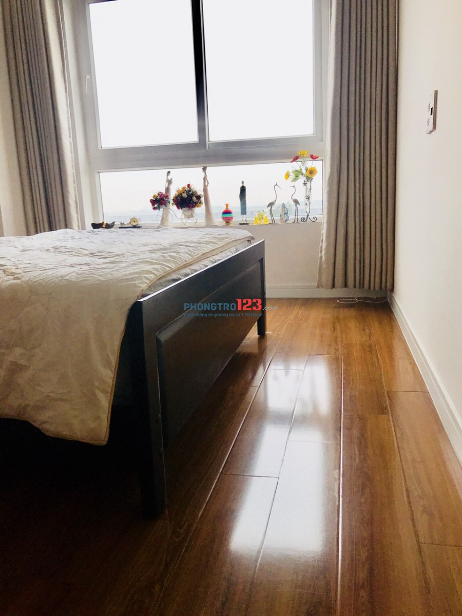 Cho thuê 1 phòng trong căn hộ 2 phòng ngủ giá 4.5tr/tháng - Nam/Nữ