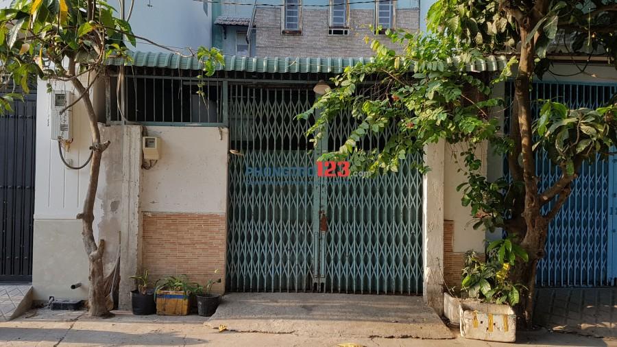 Cho thuê nhà nguyên căn diện tích 5x15m, TX1 phường Thạnh Xuân. Q12.