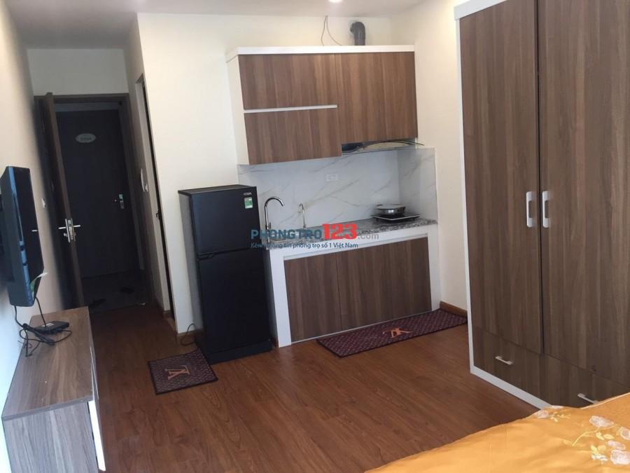 Gấp! Cho thuê căn hộ chung cư mini cao cấp full nội thất giá siêu rẻ không chung chủ tại Hoàng Quốc Việt