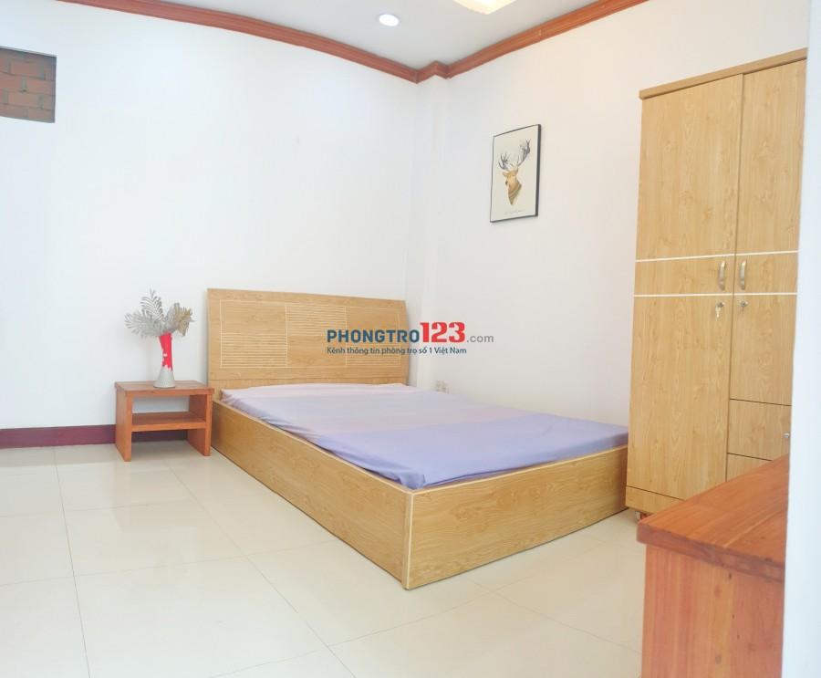 Phòng 32m2 - ban công - Trần Não Q2