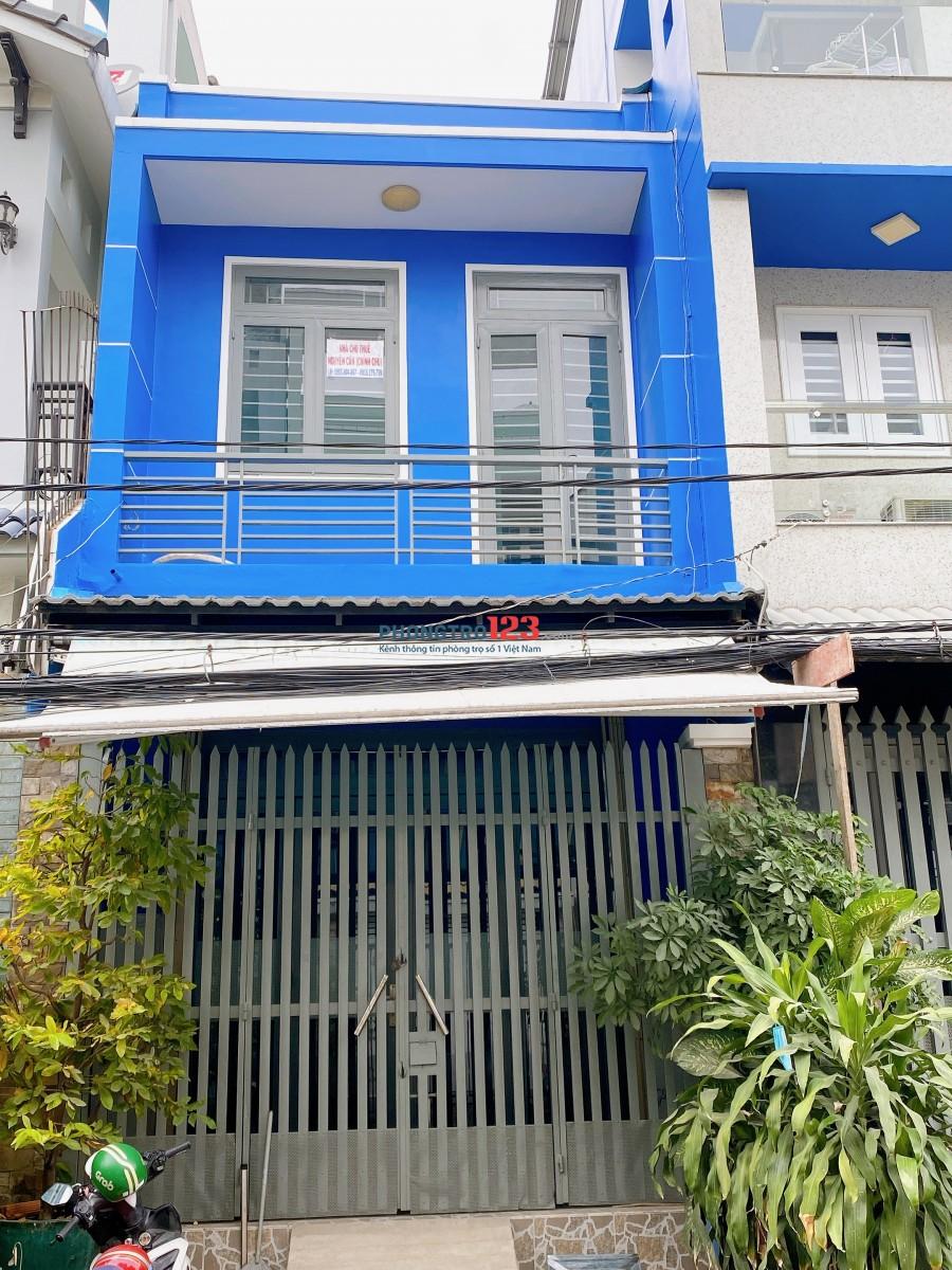 Cho thuê nhà nguyên căn mới, siêu sạch siêu an ninh Bình Tân