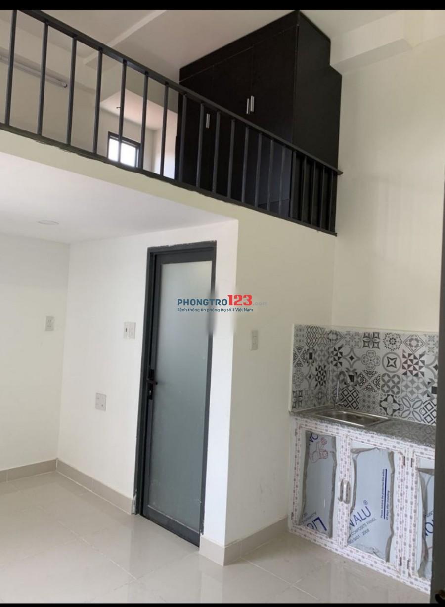 Phòng MỚI XÂY có gác 20m², thang máy full nội thất Nguyễn Thái Sơn, GV giá 3tr6