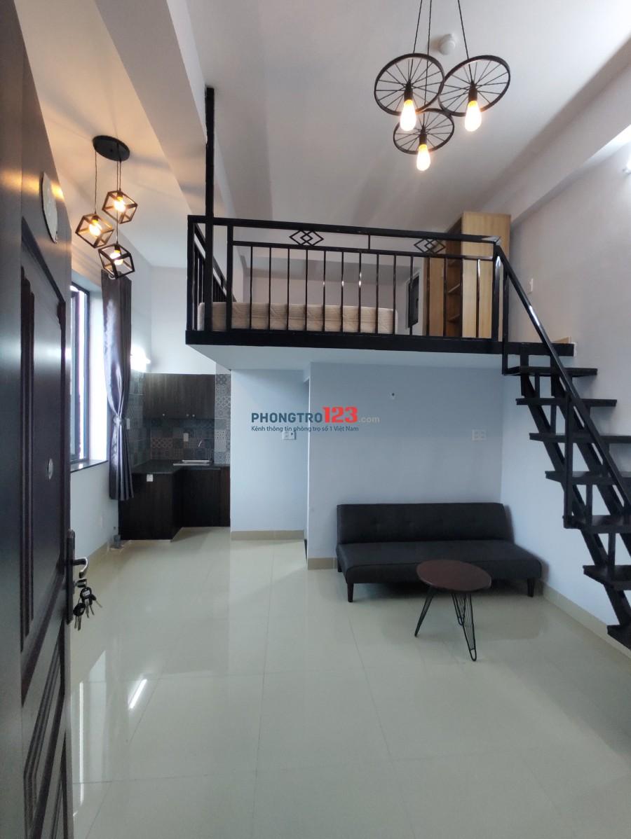 Cho thuê căn hộ mini dạng duplex bao đẹp, ngay lotte trung tâm quận 7