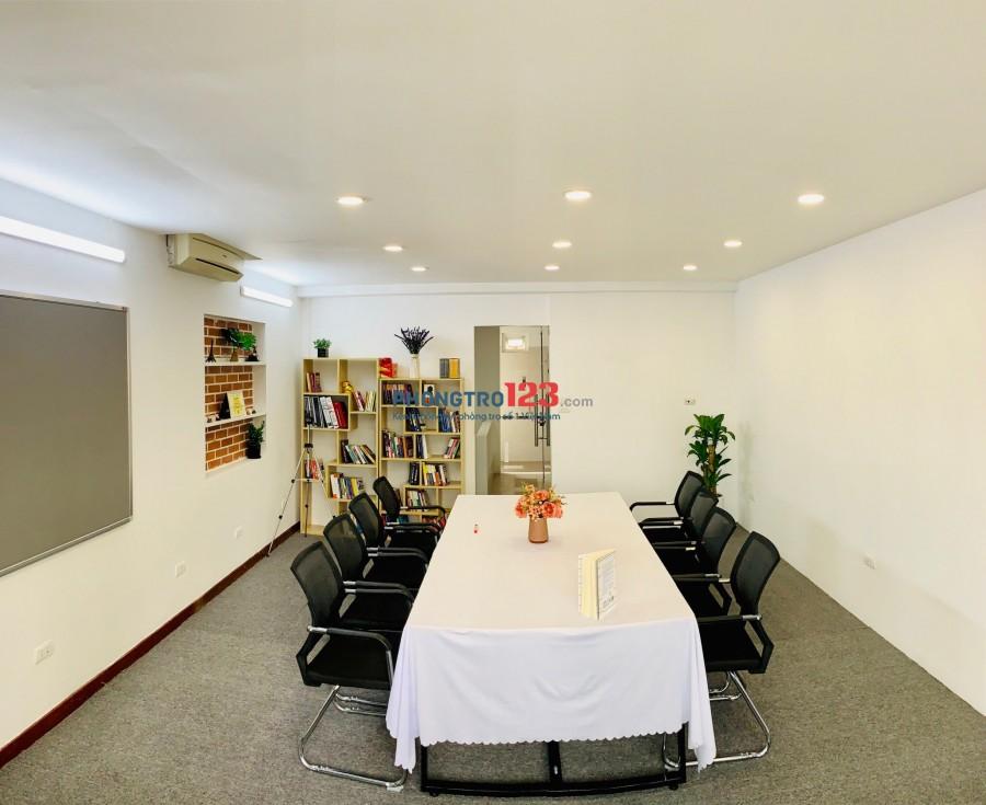 Văn phòng đẹp, đủ tiện ích, thuê theo giờ.