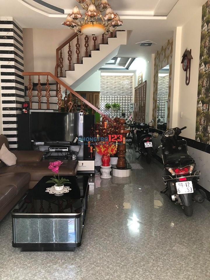Nhà cho thuê gần Mặt Tiền 1 trệt 1lửng 2 lầu 200m2 Huỳnh Văn Nghệ,P12,Gò Vấp,KD Mọi nghề