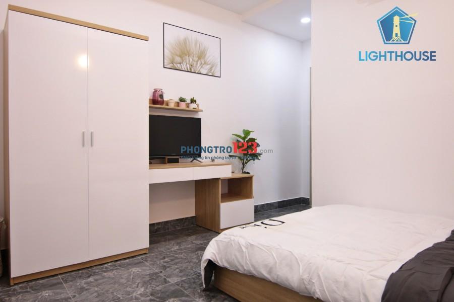 Căn hộ 1PN, 1PK, Phòng bếp riêng biệt - Đều Full nội thất. Đường Thích Quảng Đức, Phú Nhuận.