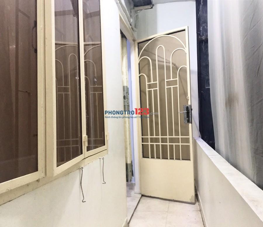 Phòng Phú Nhuận 26m2, BAN CÔNG giờ tự do, nội thất, bảo vệ