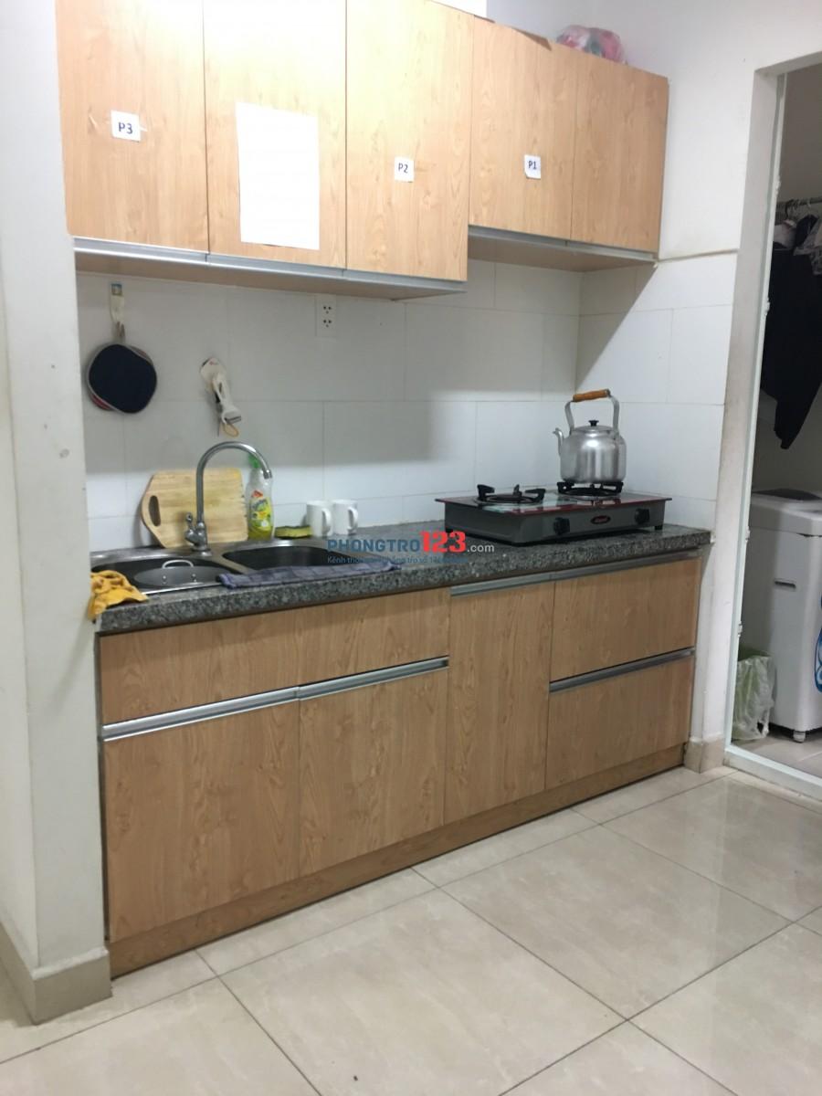 Ghép phòng ở 2 nữ chung cư hiện đại